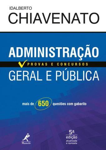 Imagem de Livro - Administração geral e pública
