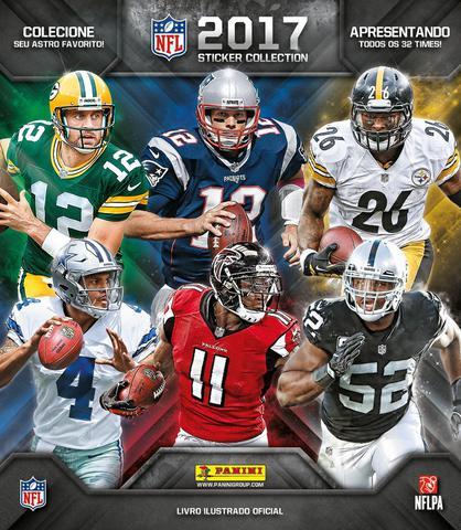 Imagem de Livro - Álbum de figurinhas NFL 2017/2018