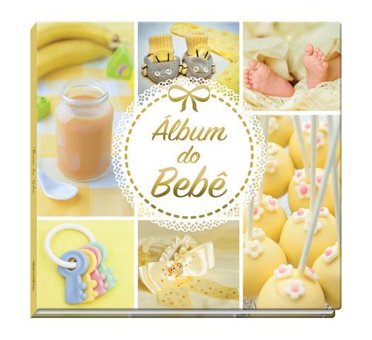 Imagem de Livro - Álbum do Bebê Amarelo