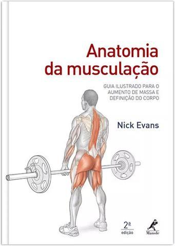Imagem de Livro - Anatomia da musculação