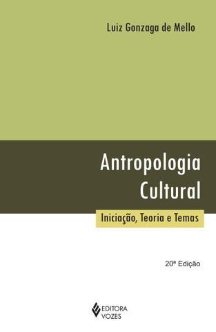 Imagem de Livro - Antropologia cultural