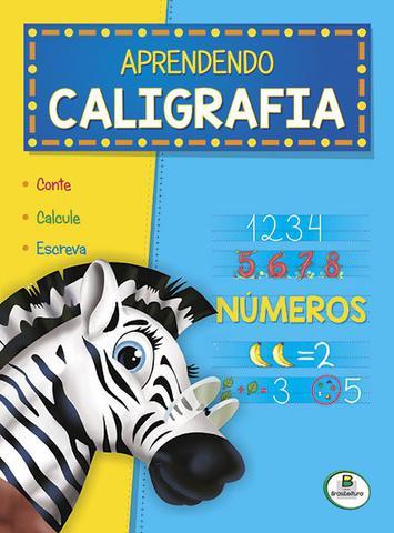 Imagem de Livro - Aprendendo caligrafia: números