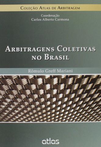 Imagem de Livro - Arbitragens Coletivas No Brasil