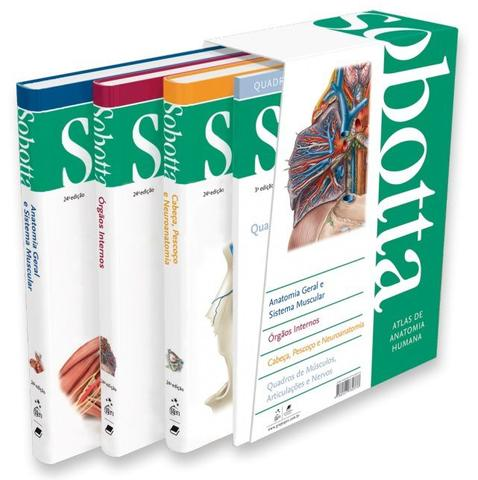 Imagem de Livro - Atlas de Anatomia Humana - 3 Volumes