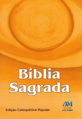 Imagem de Livro - Bíblia edição catequética popular - bolso