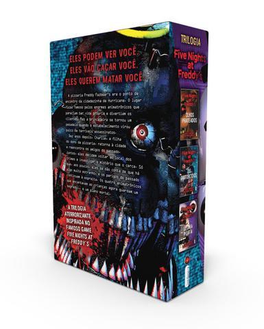 Imagem de Livro - Box Five Nights at Freddy's