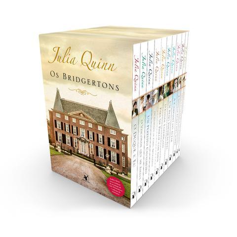Imagem de Livro - Box Os Bridgertons: 9 títulos da série + livro extra de crônicas + caderno de anotações