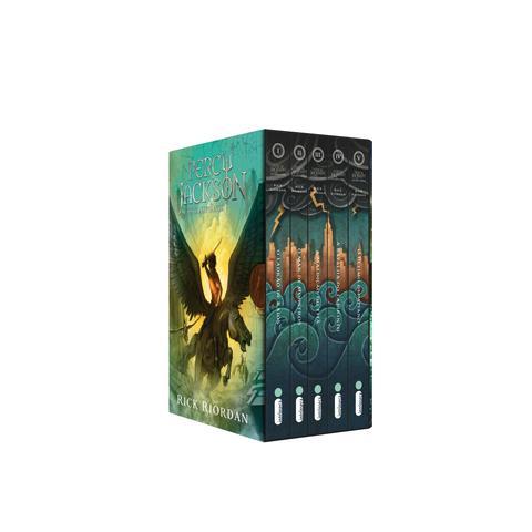 Imagem de Livro - Box Percy Jackson e os olimpianos - capa nova