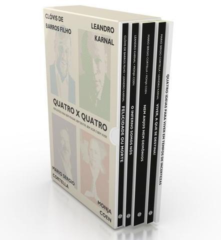 Imagem de Livro - BOX - Quatro x Quatro