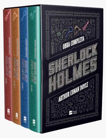 Imagem de Livro - Box Sherlock Holmes