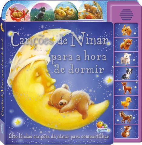 Imagem de Livro - Canções de ninar para a hora de dormir