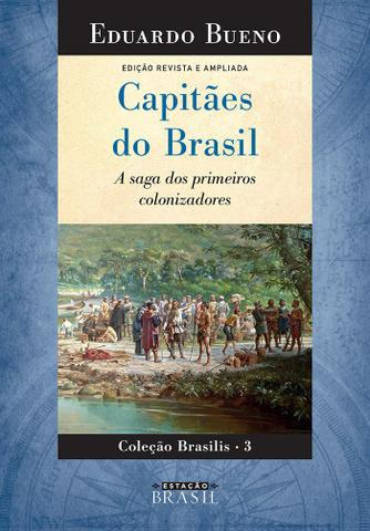 Imagem de Livro - Capitães do Brasil