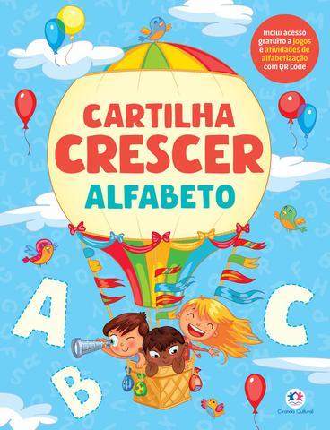 Imagem de Livro - Cartilha Crescer - Alfabeto