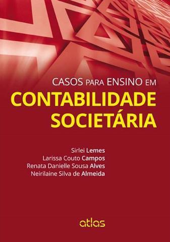 Imagem de Livro - Casos para ensino em contabilidade societária