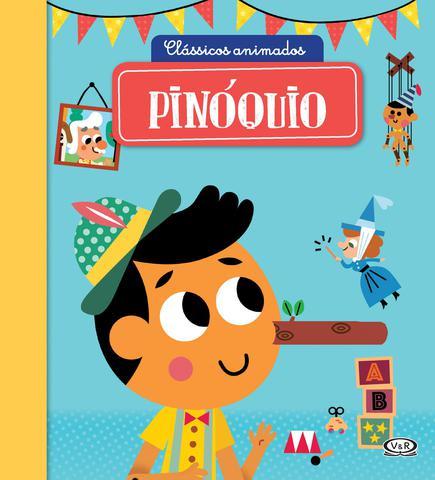 Imagem de Livro - Clássicos Animados – Pinóquio