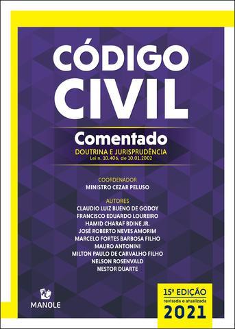 Imagem de Livro - CÓDIGO CIVIL COMENTADO
