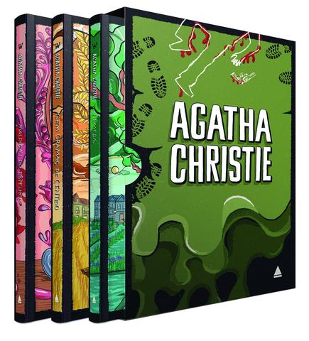 Imagem de Livro - Coleção Agatha Christie - Box 4