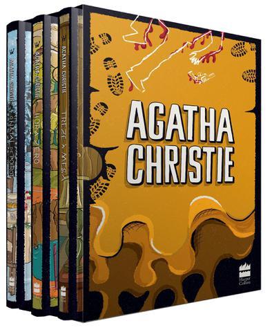 Imagem de Livro - Coleção Agatha Christie - Box 6