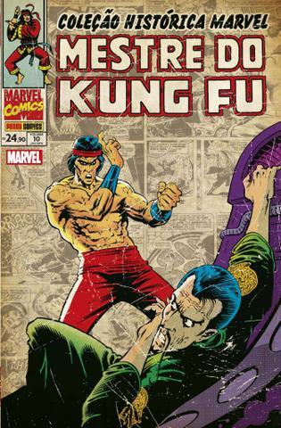 Imagem de Livro - Coleção Histórica Marvel: Mestre do Kung Fu Vol. 10
