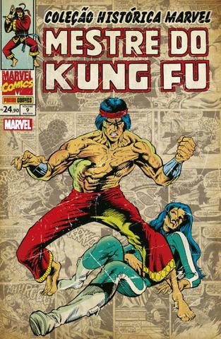 Imagem de Livro - Coleção Histórica Marvel Mestre Do Kung Fu Vol. 9