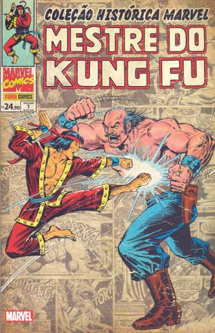 Imagem de Livro - Coleção Histórica Marvel: Mestre do Kung Fu - Volume 1