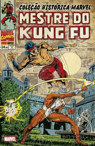 Imagem de Livro - Coleção Histórica Marvel: Mestre Do Kung Fu - Volume 11