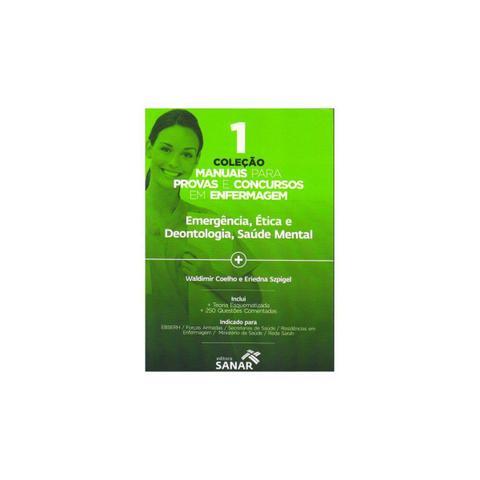 Imagem de Livro - Coleção Manuais para Provas e Concursos em Enfermagem 1 - Emergência, Ética e Deontologia, Saúde Mental - Szpigel