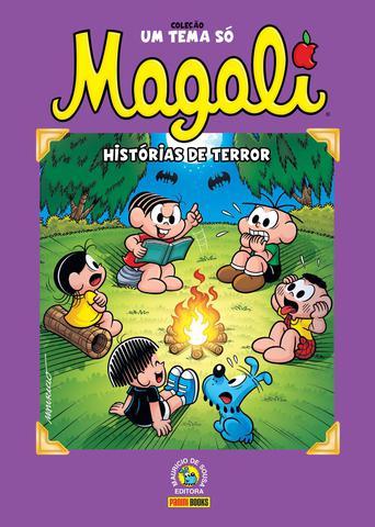 Imagem de Livro - Coleção Um Tema Só - Magali: Histórias De Terror