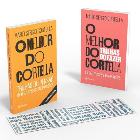 Imagem de Livro - Coletânea O melhor do Cortella - Acreditamos nos livros