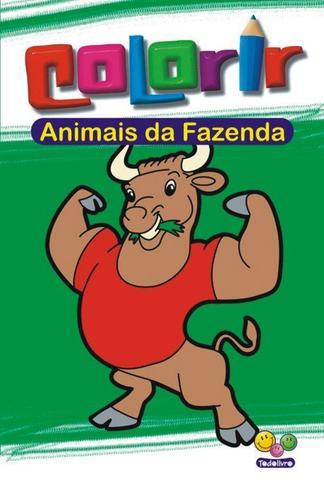 Imagem de Livro - Colorir: animais da fazenda