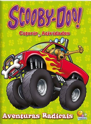 Imagem de Livro - Colorir e atividades(GD)-Scooby-doo! Aventuras radicais!