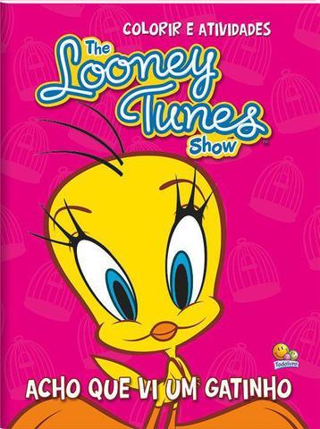 Imagem de Livro - Colorir e atividades - The Looney Tunes show: acho que vi um gatinho