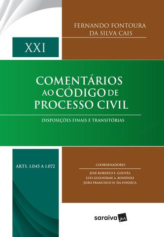 Imagem de Livro - Comentários ao código de processo civil - 1ª edição de 2017