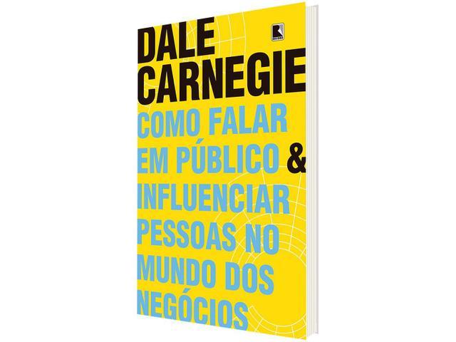 Imagem de Livro Como Falar em Público e Influenciar Pessoas