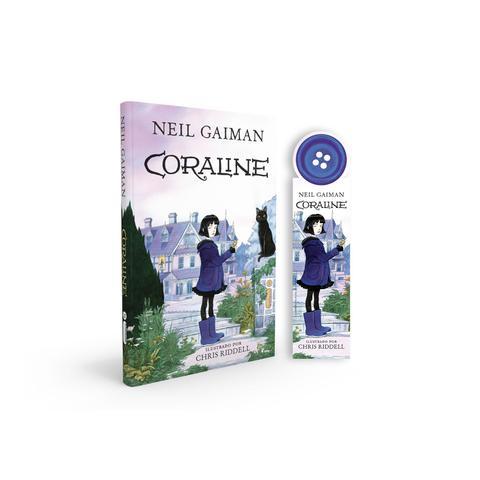 Imagem de Livro - Coraline - Acompanha marcador de páginas especial