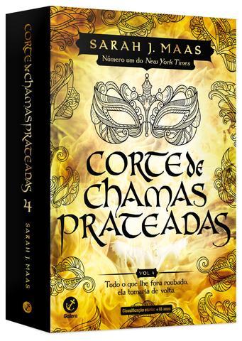Imagem de Livro - Corte de chamas prateadas (Vol. 4 Corte de espinhos e rosas) – Edição de colecionador