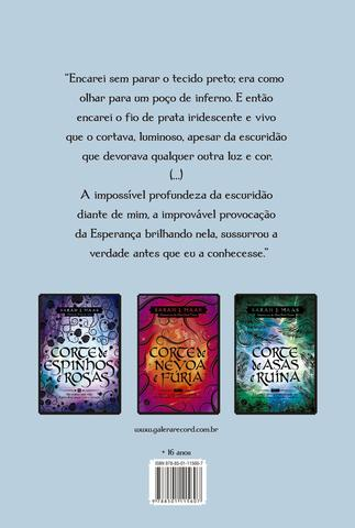 Imagem de Livro - Corte de Gelo e Estrelas