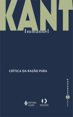Imagem de Livro - Crítica da razão pura
