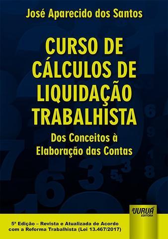 Imagem de Livro - Curso de Cálculos de Liquidação Trabalhista