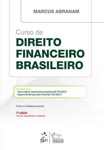 Imagem de Livro - Curso de Direito Financeiro Brasileiro