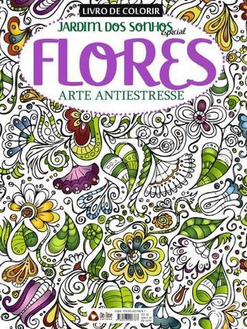 Imagem de Livro de Colorir - Jardim dos Sonhos Especial