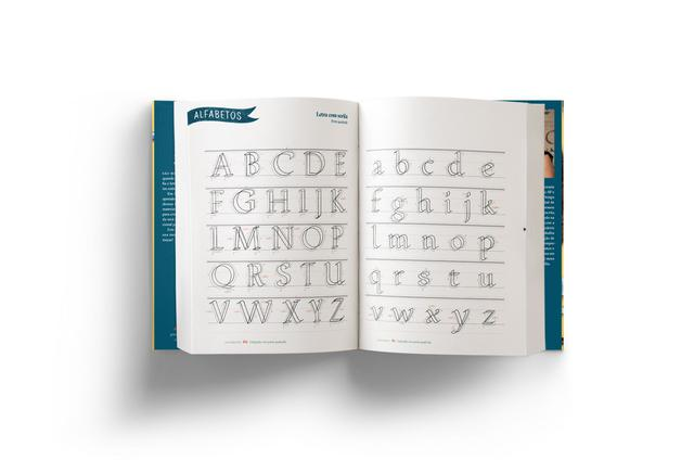 Imagem de Livro - Desenhando letras: Um guia prático para dominar a arte de escrever à mão