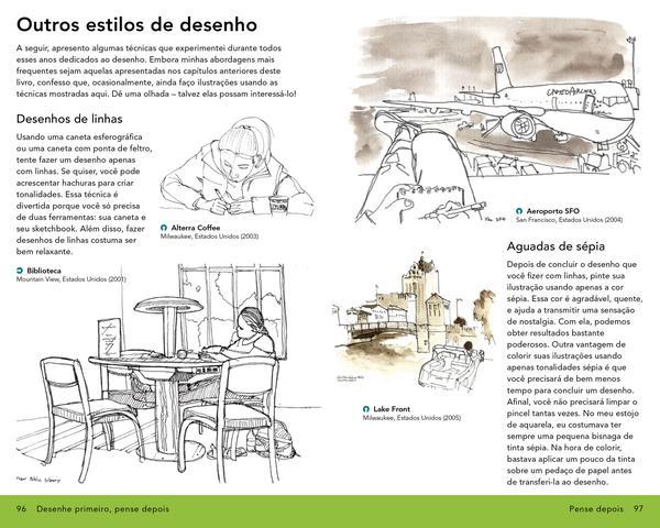 Imagem de Livro - Desenhe primeiro, pense depois