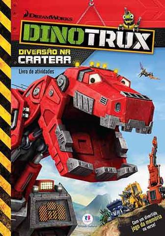Imagem de Livro - Dinotrux - Diversão na cratera