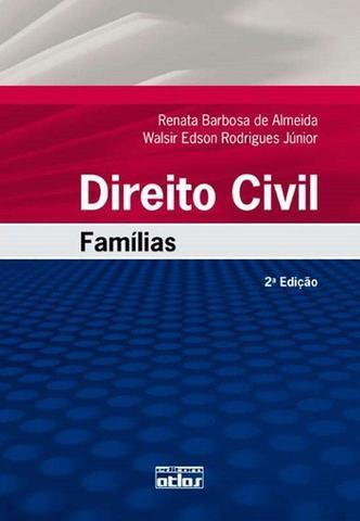 Imagem de Livro - Direito Civil: Famílias