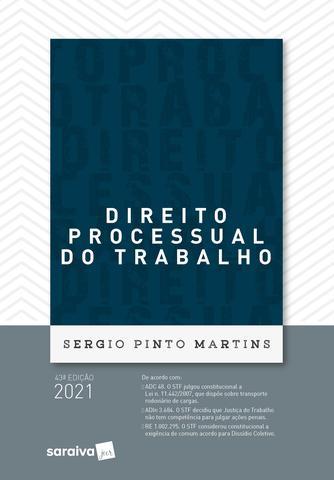 Imagem de Livro - Direito Processual do Trabalho - 43ª Edição 2021