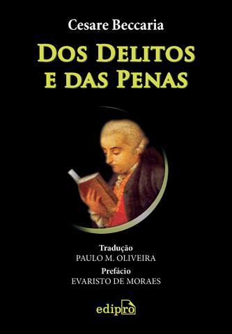 Imagem de Livro - Dos Delitos e das Penas
