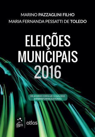 Imagem de Livro - Eleições Municipais 2016