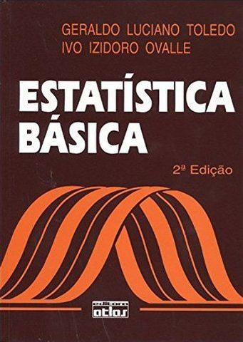Imagem de Livro - Estatística Básica