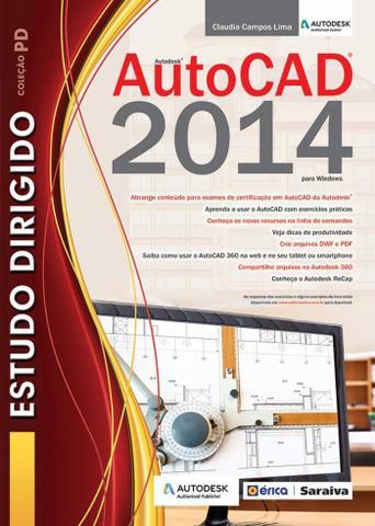 Imagem de Livro - Estudo dirigido: Autocad 2014 para Windows